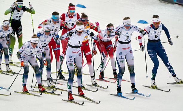 Quebecissa hiihdettiin vuosi sitten. Tänä vuonna maailmancup ei Kanadassa kisaa.