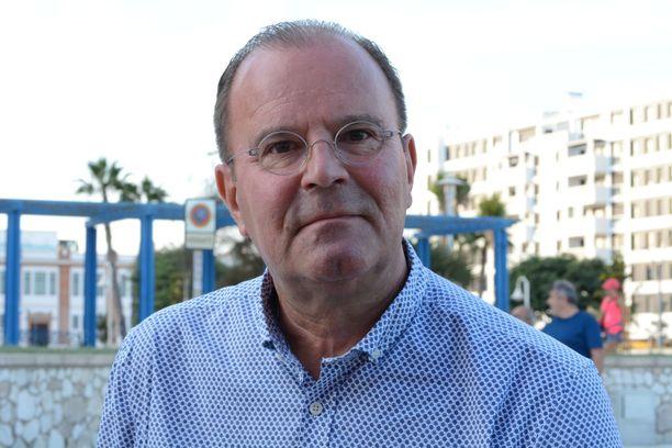 Kaj Björkqvist toimii Espanjan Malagassa Suomen poliisin yhdyshenkilönä.