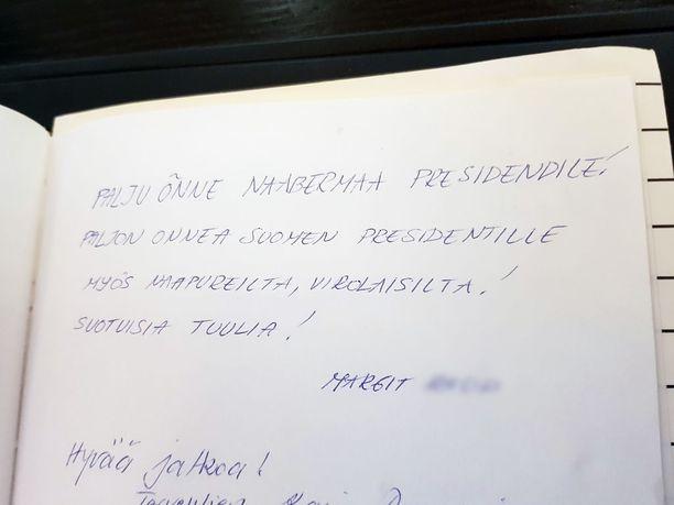 Niinistö sai onnitteluja myös ulkomailta.