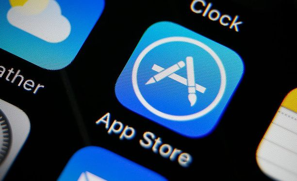 App Storen vanha logo vaihtui elokuussa uuteen.