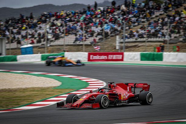 Portimãon GP debytoi F1:ssä viime kaudella.