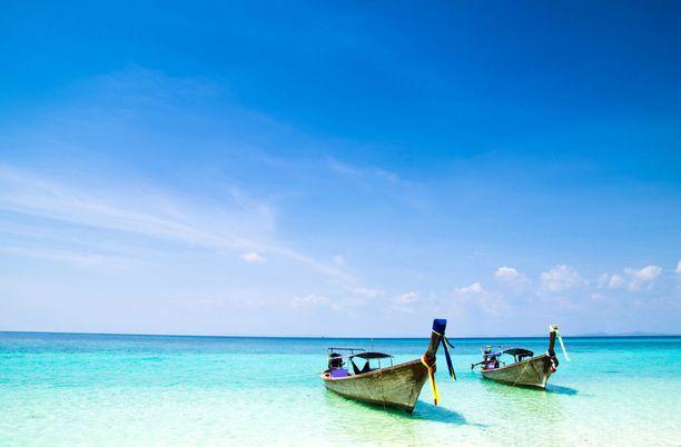 Kauneimmat rannat löytyvät Thaimaan saarilta.