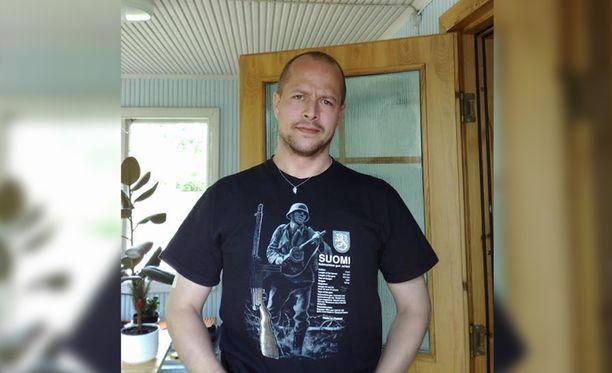 Timo Pekka Leino lähti kodistaan eilen aamulla.