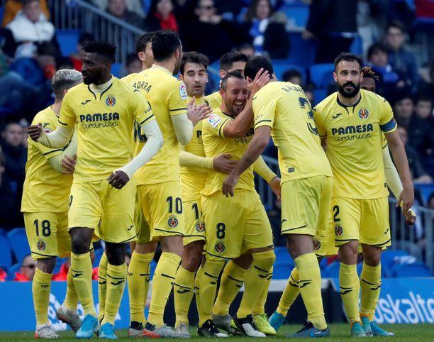 Villarreal on kolmen ottelun voittoputkessa.