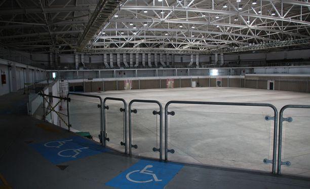Carioca Arena 3 Riossa on hiljaisen oloinen paikka.