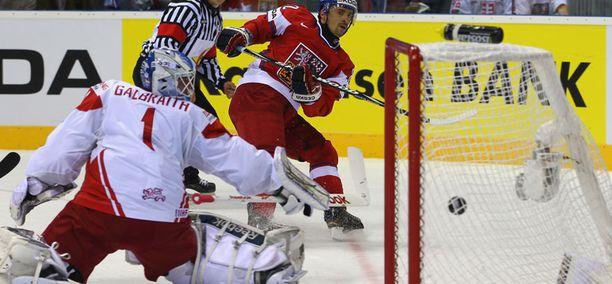 Tshekki murjoi Tanskan luvuin 6-0.