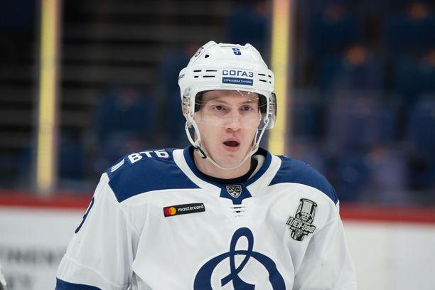 Dmitri Kagarlitski kiusasi viime playoffeissa Jokereita, jonka Moskovan Dynamo pudotti ensimmäisellä kierroksella voitoin 4-2.