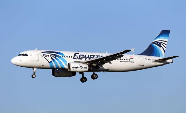 EgyptAirin kone putosi Välimereen toukokuussa 2016.