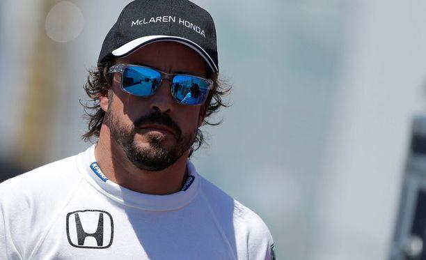 Fernando Alonson pistetili näyttää vielä nollaa.