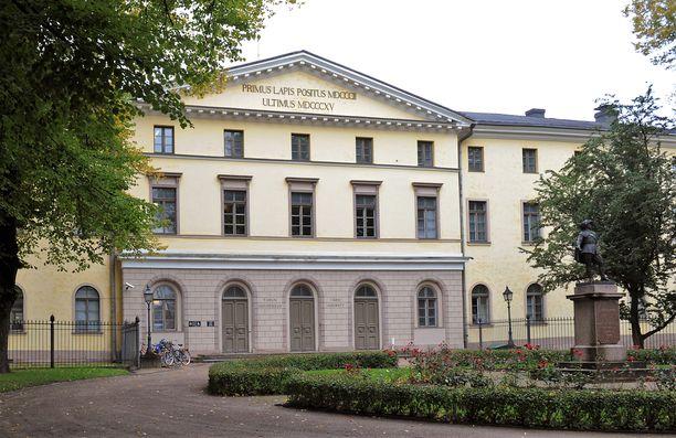 Turun hovioikeuden päärakennus.