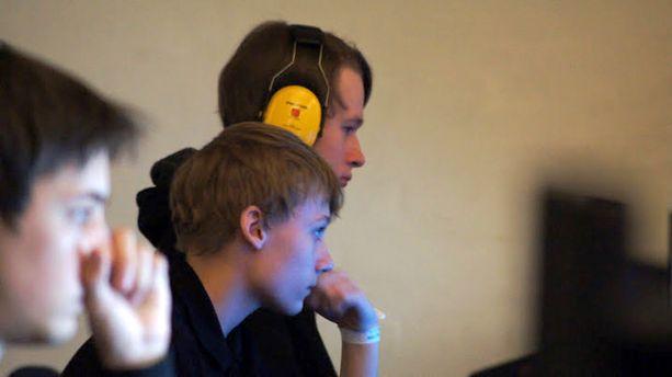 Joona (14) ja Jonne (18) Kööpenhaminassa järjestetyssä StarCraft-turnauksessa vuonna 2012.