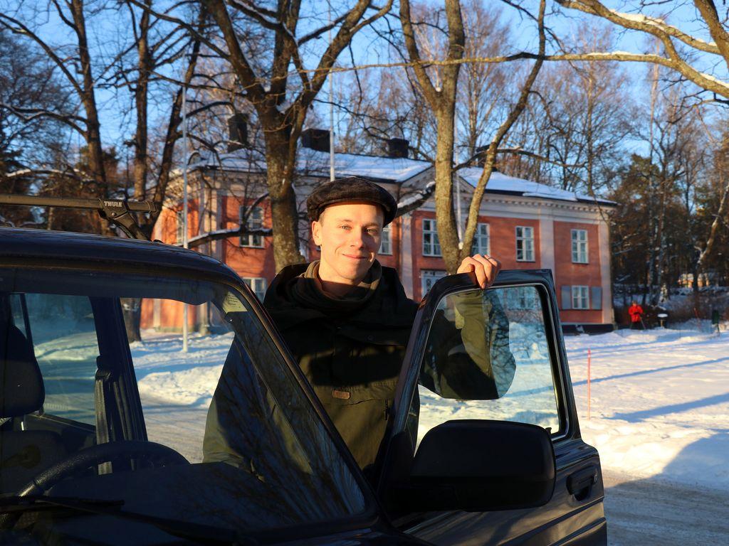 Pekka Laurila kertoi halunneensa yksinkertaisen ja helposti huollettavan auton.