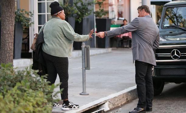 Sylvester Stallonella ei ollut pikkurahasta puutetta.