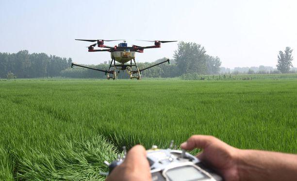 Dronen lennättäjien Yhdysvalloissa kannattaa ottaa selvää, onko lentoalue sotilasalueen lähellä.
