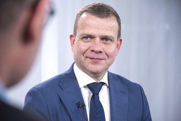 Petteri Orpo ILTV:n studiovieraana viime eduskuntavaalien alla.