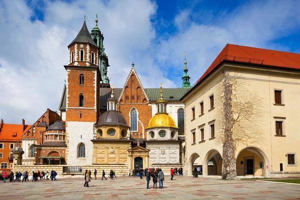 Krakovassa on paljon nähtävää ja edullinen hintataso.