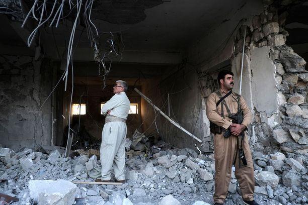 Iranin vallankumouskaarti teki ohjusiskun kurdien tukikohtaan Pohjois-Irakissa.