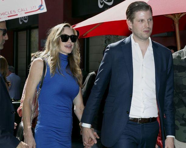 Eric ja Lara Trump saavat ensimmäisen lapsen.