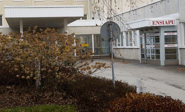 ALUESAIRAALA Valkeakosken aluesairaalaan on Urjalasta matkaa noin 40 kilometriä.