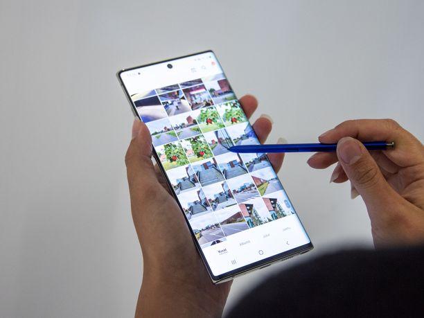 Galaxy Note10 -puhelimet saapuvat kauppoihin 23.8.