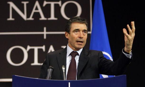 Tanskalaisen Anders Fogh Rasmussenin mukaan Suomi on halutessaan tervetullut Natoon.