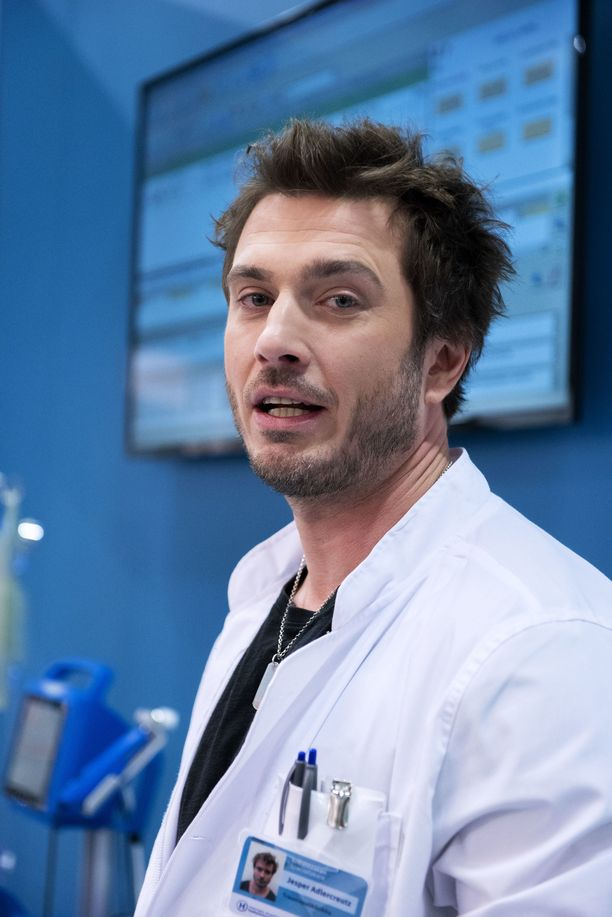 Rejmanin näyttelemä Jesse saa traumapolin naisten sukat pyörimään.