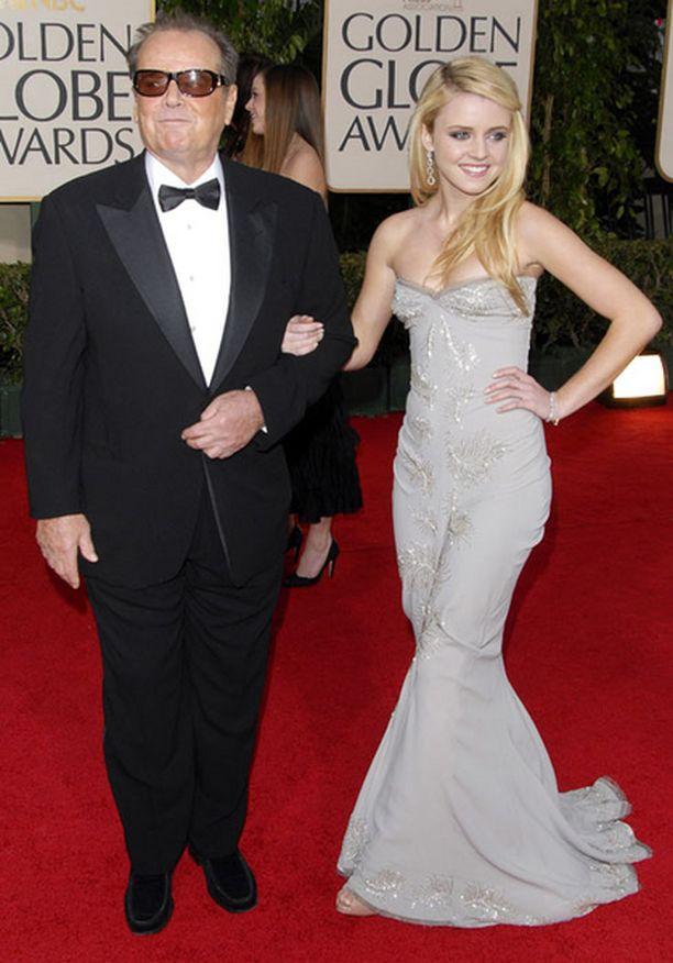 Jack Nicholsonin Lorraine-tytär on 17-vuotias näyttelijänalku.