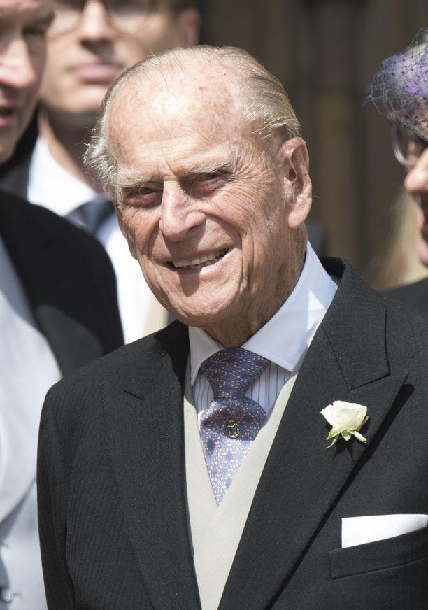 Prinssi Philip on läheisissä väleissä pojanpoikansa kanssa.