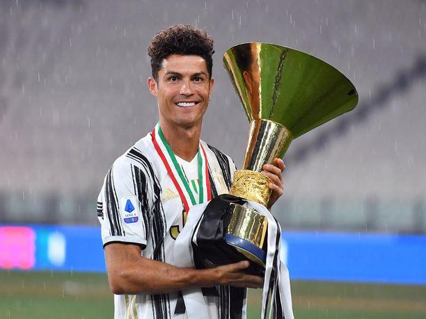 Cristiano Ronaldo juhli viikonloppuna toista Scudettoaan Juventuksen paidassa.