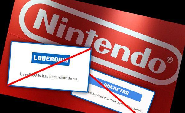 Nintendo ja ROM-tiedostoja jakaneet sivustot ovat päässeet yhteisymmärrykseen.