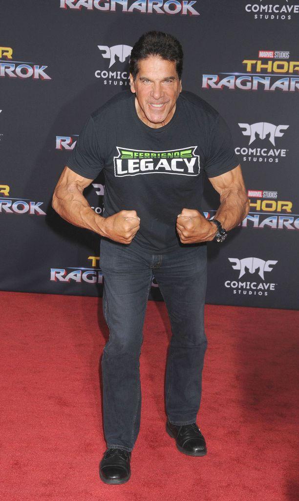 Lou Ferrigno sijoittui parhaimmillaan kehonrakennuksen huippukisassa Mr Olympiassa kakkoseksi vuonna 1974.