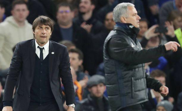 Antonio Conte ja Jose Mourinho kohtaavat taas tänään.