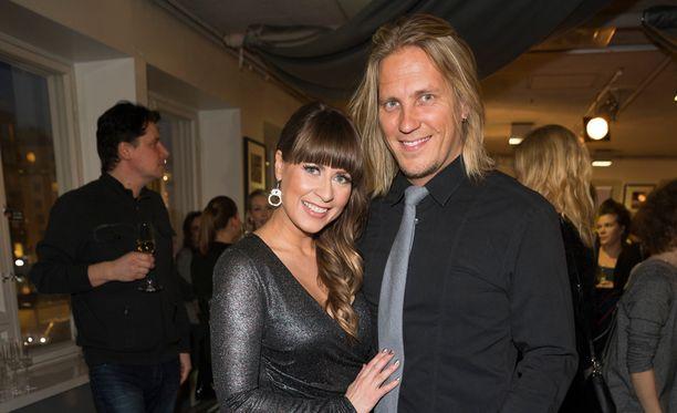 Mirkka Torikka ja Sami Kuronen ovat seurustelleet kaksi vuotta.