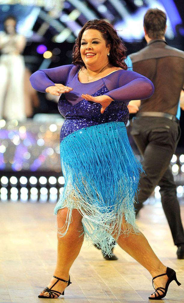 Riley osallistui Strictly Come Dancing -kilpailuun vuonna 2012.