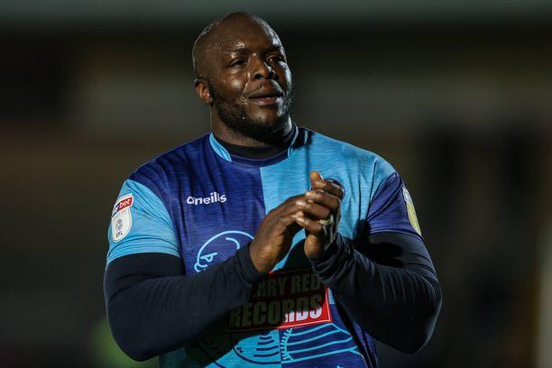Adebayo Akinfenwa on edustanut nykyseuraansa Wycombea vuodesta 2016.