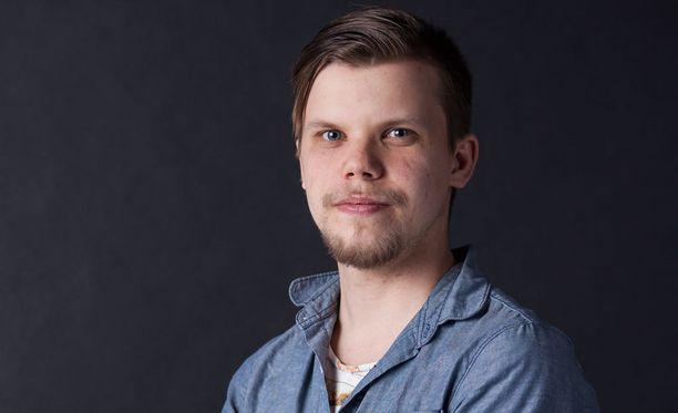 Toimittaja Juuso Määttänen.