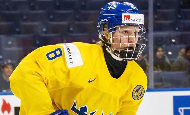 Rasmus Dahlinia ei nähdä MM-kisoissa.