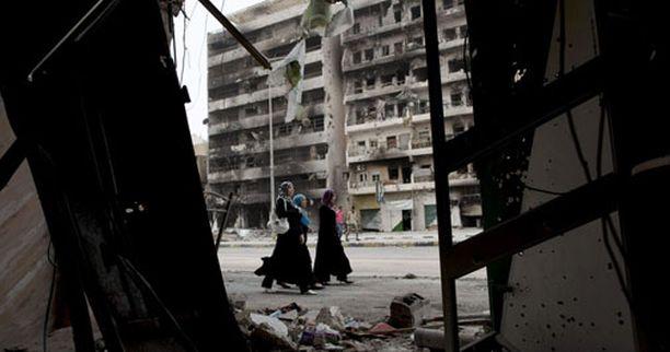 Julmuudet tapahtuivat Misratan kaupungissa.