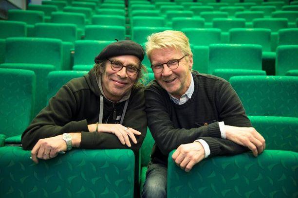 Vesa Vierikon ja Pirkka-Pekka Peteliuksen ystävyys alkoi 39 vuotta sitten.