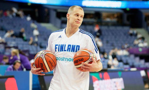 Sasu Salin pelasi hienon ottelun Islantia-vastaan.
