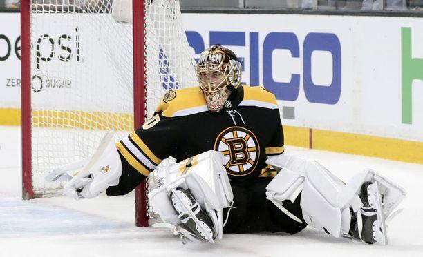 Boston Bruinsin Tuukka Rask.