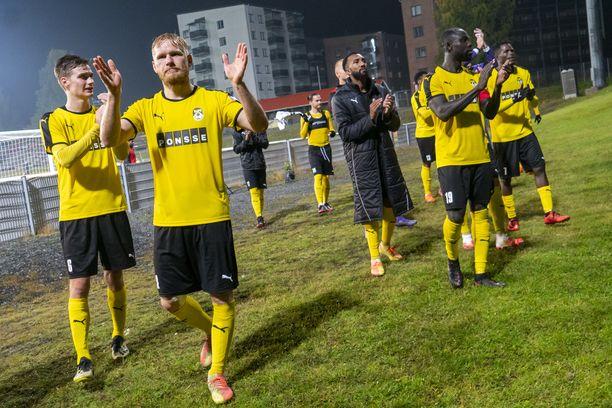 KuPS pelasi viime viikolla Eurooppa-liigan karsintoja.