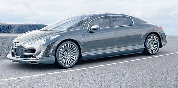 Onko tässä uusi tulevaisuuden iso Peugeot?