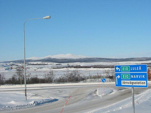 Kiiruna sijaitsee Ruotsin Lapissa.
