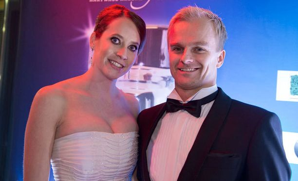Catherine Hyde ja Heikki Kovalainen alkoivat seurustella vuosituhannen alussa.