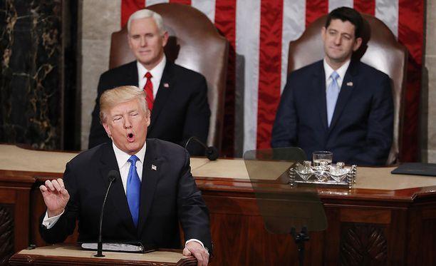 Presidentti Donald Trump ei ole saanut toivomaansa tukea kaavailemilleen tuontitulleille.