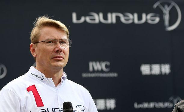 Mika Häkkisen (kuvassa) ja Didier Cotonin yhteistyö ei jatku managerisuhteen muodossa.