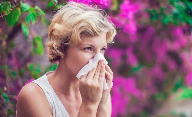 Kevät on ihanaa, mutta myös inhaa aikaa, jos siihen kuuluu alleriaoireita.