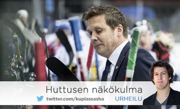 Lauri Marjamäen Leijonat on voittanut 15 ottelusta vain neljä.