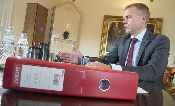 Petteri Orpo esitteli keskiviikkona ensi vuoden budjettiesitystä.